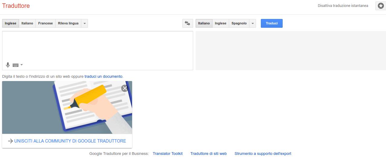 Google Traslate