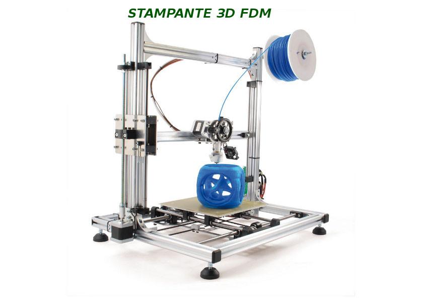 Stampante 3D con tecnologia FDM