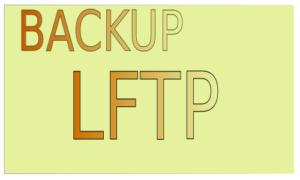Backup con LFTP