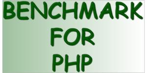 Benchmark per PHP