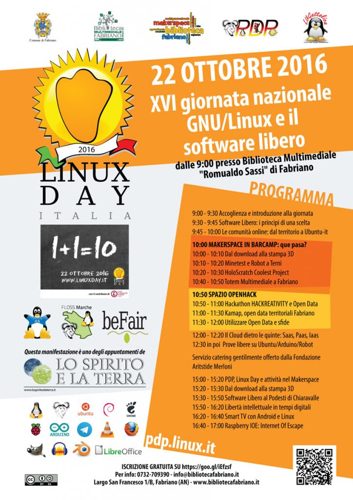 Linux Day Fabriano 2016