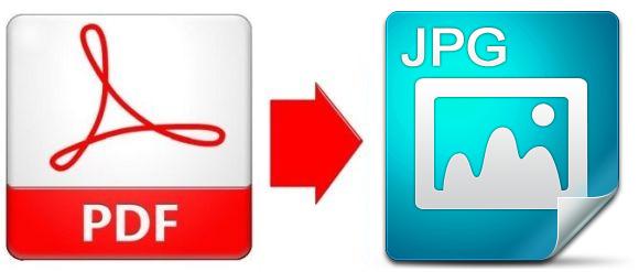 Convertire PDF in Immagine