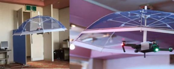 Ombrello con Drone Libera le tue Mani